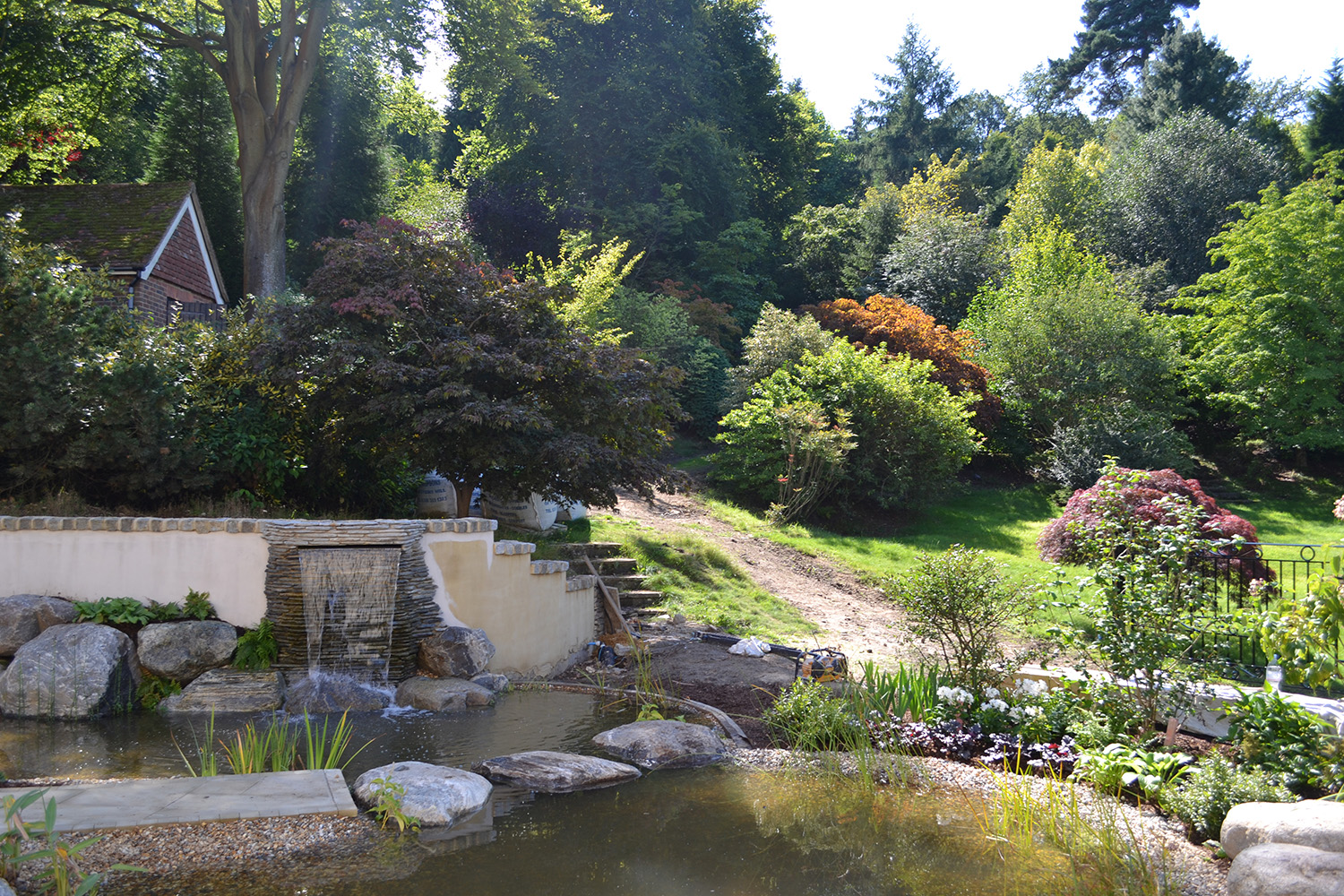 Kate Gould Gardens - Traditional Garden Design Hindhead