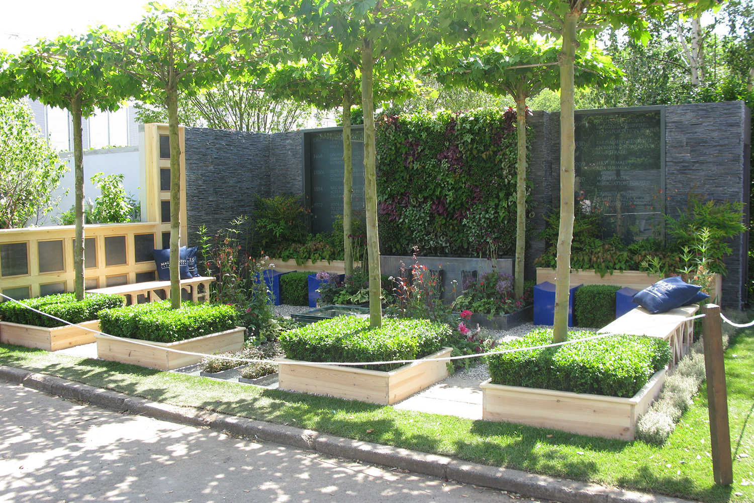 RHS Chelsea Flower Show - Magistrates Association